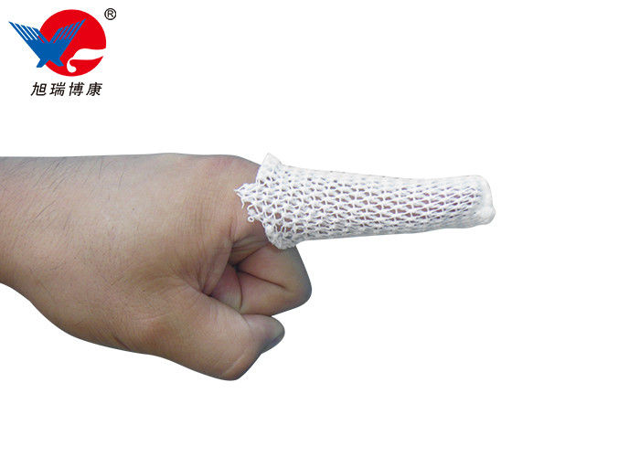 Soft Reticular Elastic Tubular Bandage Good Ventilation With Effective Tissue Support