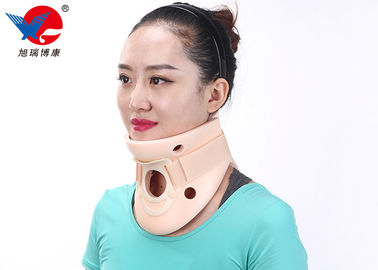 China Apoyo de cuello cervical ajustable del cuello del adulto, cuello cervical de la espuma suave rosada del color fábrica